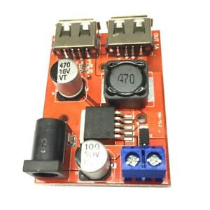 Dual-USB-9V-12V-24V-36V-to-5V-3A-DC-DC-Car-Charger-Power-Supply-Module-Solar