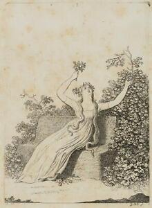 "Chodowiecki (1726-1801). Madame unzelmann spettacolo ""Nina, follia per amore"" 1"