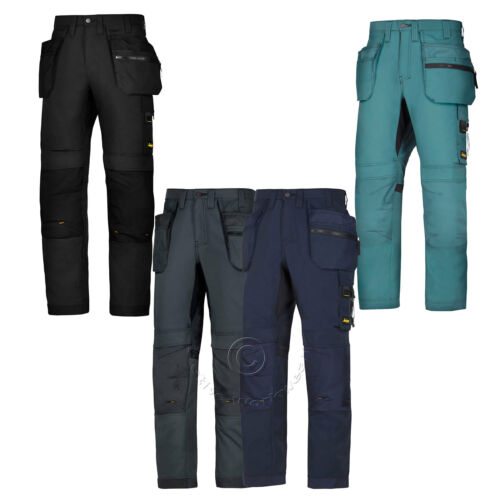 Trousers with Multi Holster /& Kneepad Pockets Snickers AllroundWork 6200