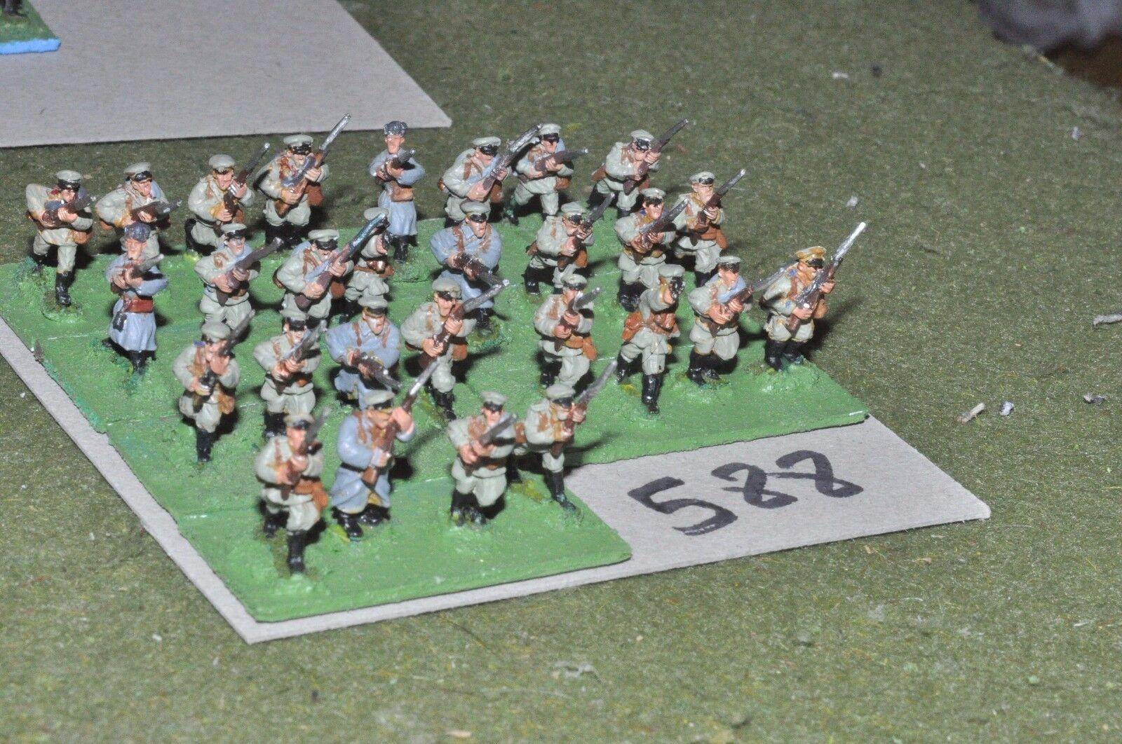 15mm WW1   russian - civil war Infantry Platoon 28 Infantry - inf (WWI588)
