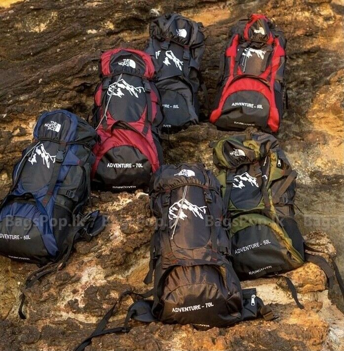 70L Backpack Traveling Hiking Camping Sports Waterproof - s l1600