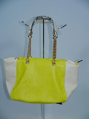 +Ital. Designer Shopper Henkeltasche Schultertasche beige-türkis, rose, gelb NEU