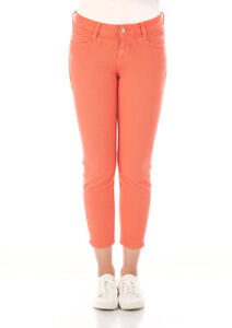 Mustang Damen 7/8 Jeans Jasmin- Slim Fit - Orange Grösse W26-W32
