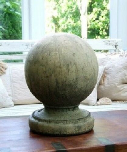 Stone Ball Finial Garden Ball Finial Stone Ball Finial