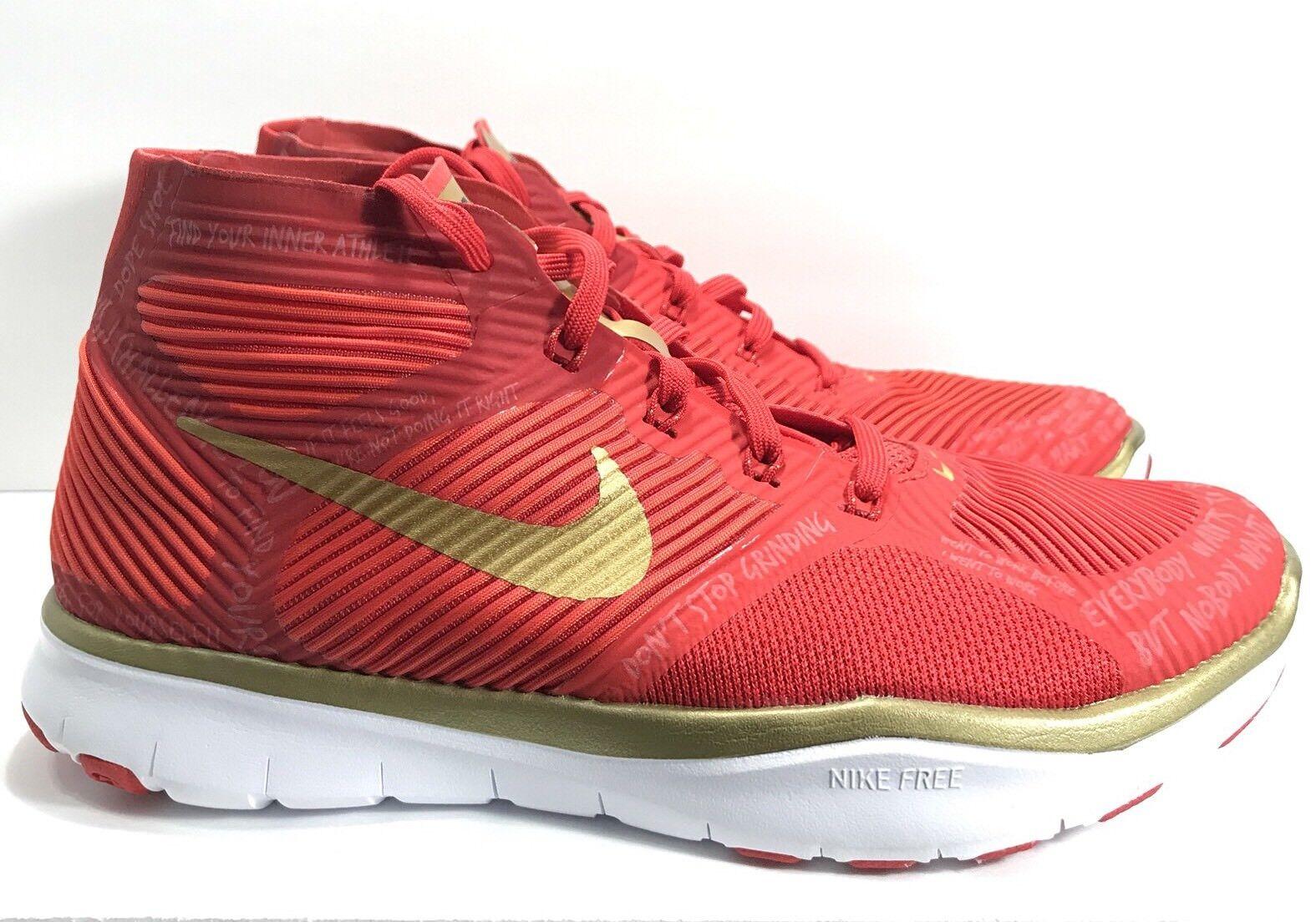 Nike Free Train Instinct Kevin Hart Hustle Men's Shoes Size 6 Red 848416-876