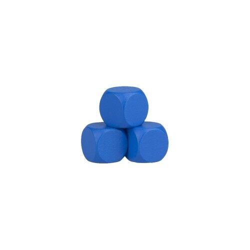 Blank Dice - 12mm - bluee