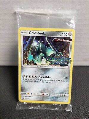 Pokemon Prerelease PRE RELEASE Promo Pack Celestial Storm CELESTEELA SM131