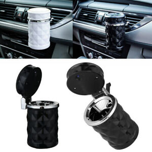 Portable-LED-Cubo-de-basura-Cigarrillo-cilindro-Copa-de-humo-Cenicero-del-coche