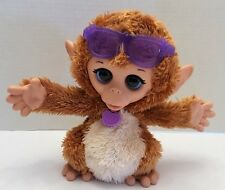 FurReal Baby Cuddles My Giggly Monkey Chimp Interactive Hasbro FurReal Toy Works
