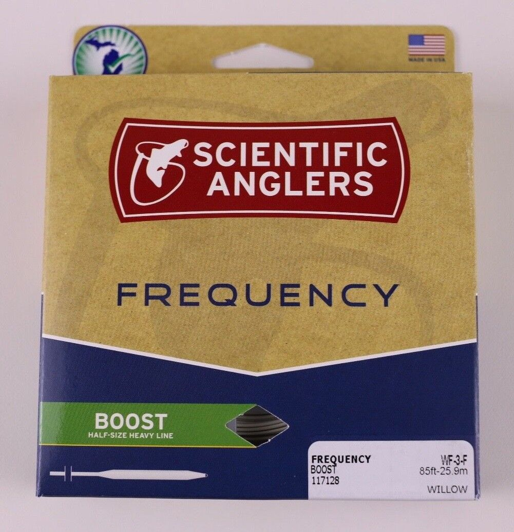 Scientific Anglers Frequency Boost Fly Line WF3F Free Fast Shipping 117128