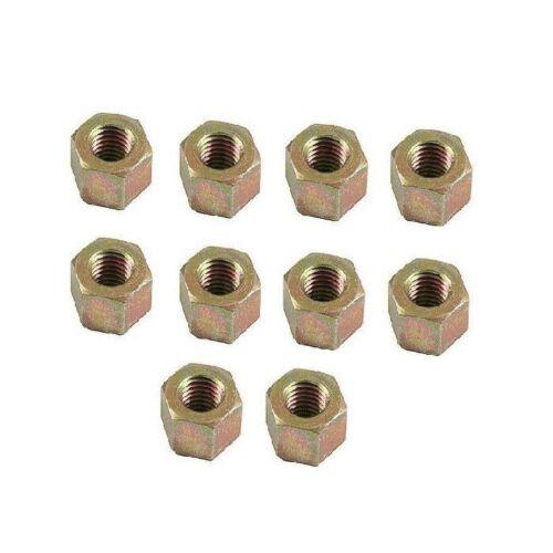 10 Porsche 924 928 944 968 Engine Cylinder Head Nut Genuine 04643007001