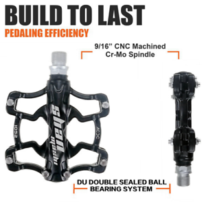 SMS-Magnesium-Alloy-Mountain-Bike-Pedal-Comfort-Widen-Bicycle-Pedals-9-16in