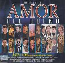 CD/DVD - Amor Del Bueno NEW 3 CD's 1 DVD Rio Roma Cristian Y Mas FAST SHIPPING !