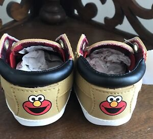 3887261108f0b Details about SESAME STREET ELMO Baby Shoes SIZE 1W Toddler Sneakers  Walking Shoes SOFT NEW