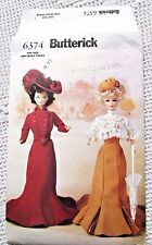 """6374 SEWING PATTERN~UNCUT~BARBIE """"DELINEATOR"""" VICTORIAN DOLL CLOTHES:CIRCA 1900"""