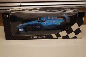 Minichamps 183000111 Benetton Playlife B200 Jenson Button Jerez, Déc 2000 à 1:18