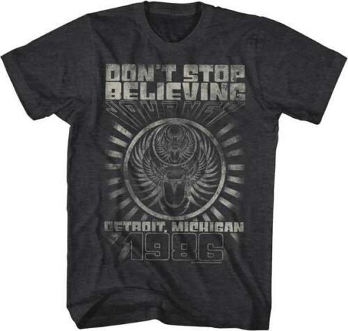 1986 DETROIT MICHIGAN Journey Classic Rock Band Licensed Concert TOUR T-Shirt