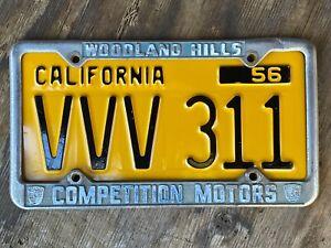 Porsche-Competition-Motors-Woodland-Hills-Dealership-License-Plate-Frame-VW
