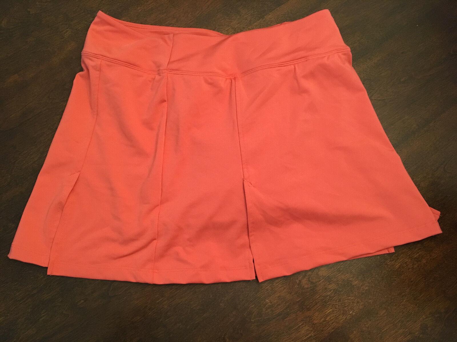 NWT Women's Stonewear Designs Dryflex MW Pink Active Stride Skort Medium