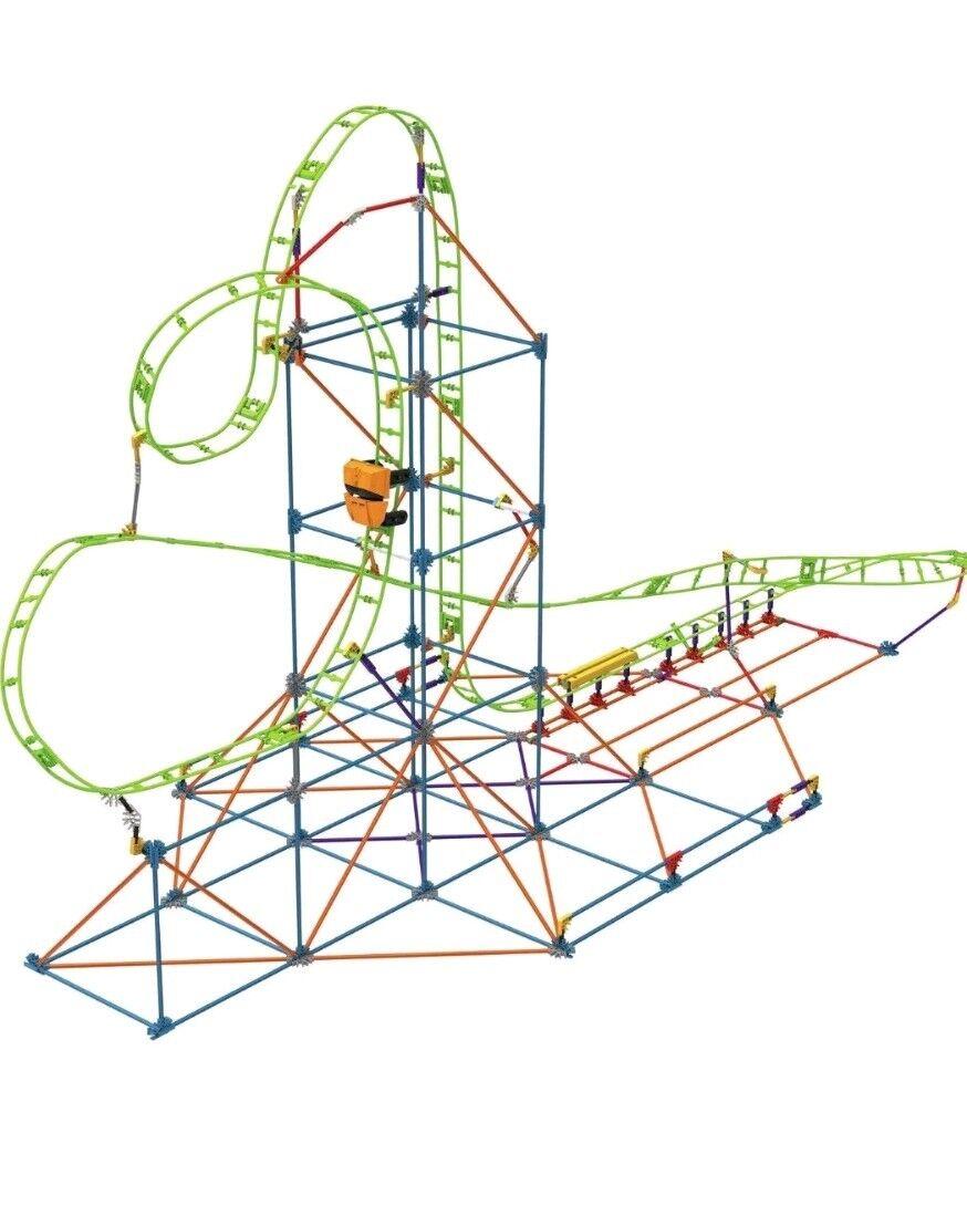 K'Nex Infinite Journey Roller Coaster Building Set 15407