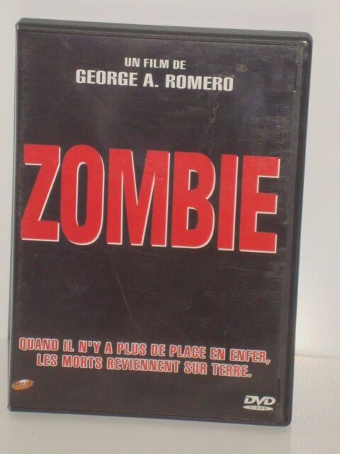 CULTE DVD HORREUR ZOMBIE GEORGES A. ROMERO
