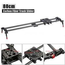 "80CM 32"" DSLR DV Carbon Fiber Camera Track Dolly Rail Slider Video Stabilizer"
