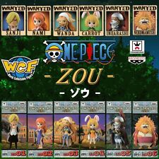 ONE PIECE WCF World Collectable Figure COUNTRY OF ZOU Complete set