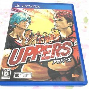 USED-PS-VITA-PSV-UPPERS-PlayStation-VITA-02458-Japan-import