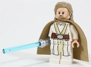 New Lego Star Wars Old Master Luke Skywalker Minifigure 75200 The Last Jedi Ebay