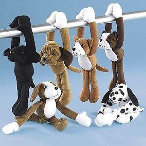 Plush Long Arm Dogs With Velcro Paws 1 Dozen Bulk Ebay