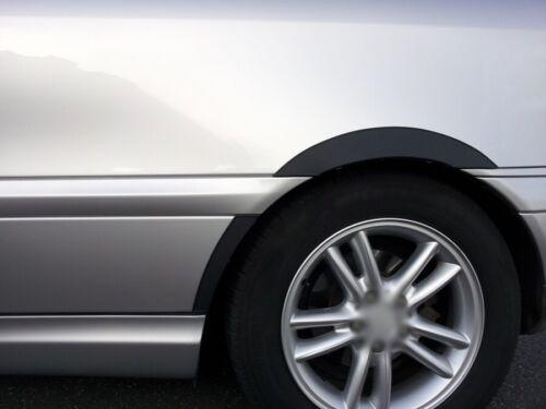 Mercedes C W203 Maletero Nuevo Rueda arco guarnecido Negro 6 Piezas Set 00-07 Ala Delantero Trasero