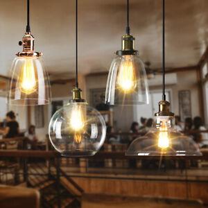 Modern-Industrial-Retro-Chandelier-Pendant-Light-Shade-Loft-Glass-Ceiling-Lamp