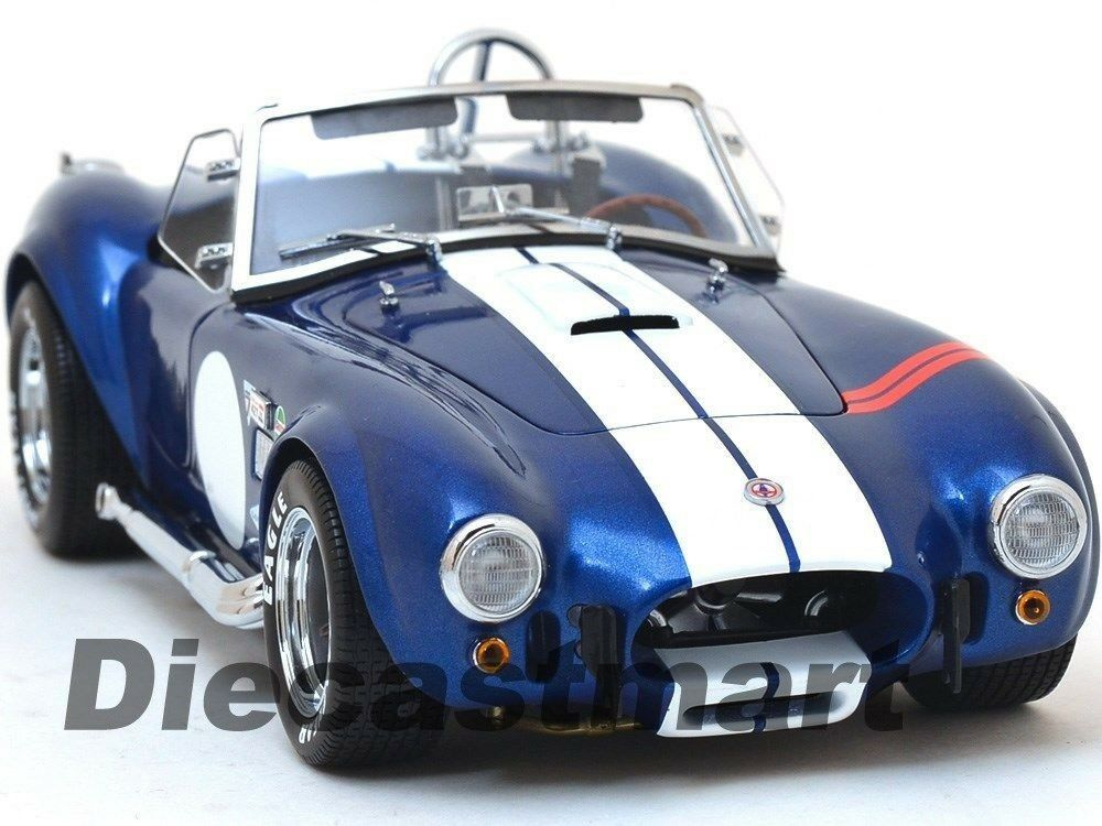 SHELBY COBRA 427 S C bluee 1 18 DIECAST MODEL CAR BY KYOSHO 08045 NEW FOR 2017