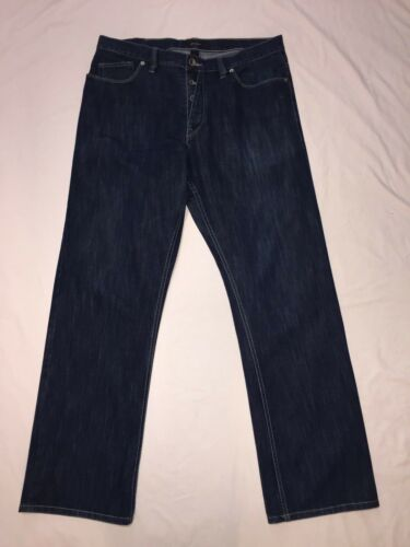 jambe hommes Sean avec boutons droite 36 en Jeans 36x33 Jean pression denim pour bleu et 7HTxwq1