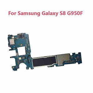 Unlocked-Main-Motherboard-Logic-Board-For-Samsung-Galaxy-S8-G950F-SM-G950F-64GB