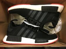 item 6 NEW ADIDAS NMD R1 BRED BLACK RED ORIGINALS RUNNING SHOE CQ2413 SIZE  MEN 9 -NEW ADIDAS NMD R1 BRED BLACK RED ORIGINALS RUNNING SHOE CQ2413 SIZE  MEN 9 6afa7794d