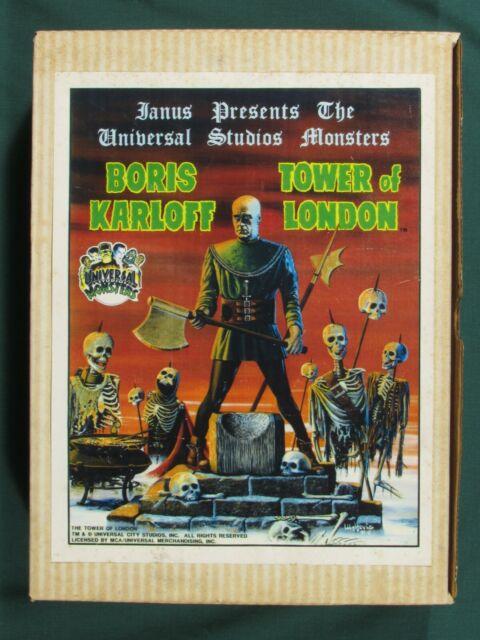 Tower Of London - Boris Karloff 1/6 Janus 1991