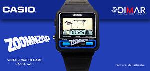 "VINTAGE WATCH CASIO GAMES GZ-1 ""AKA-ZOOMZAP"" QW.497- JAPAN AÑO.1985"