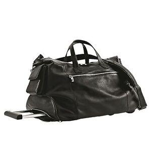 94b4273fd4 Image is loading Piquadro-Modus-Black-Wheel-on-travel-duffel-bag-