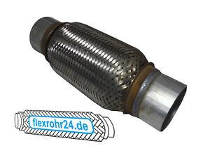BMW//FORD 55X250mm 2-Schicht Verstärkt  zuschweißen NEU FLEXSTÜCK,ABGASROHR Sp