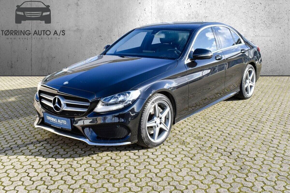 Mercedes C200 d 2,2 AMG Line aut. 4d - 1.999 kr.