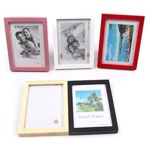 new 5 6 7 8 multi size room office decor wooden picture photo wall frame s ebay. Black Bedroom Furniture Sets. Home Design Ideas