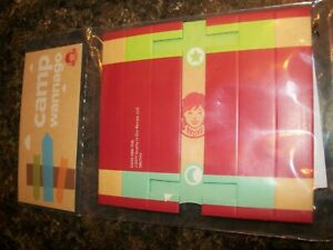 Details about  /☀️NEW Lot 3 Wendys Camp Wannago Toys Pinwheel Campers Guide Book Binoculars