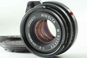 exc-5-Minolta-M-Rokkor-40mm-f-2-fuer-Leica-Leitz-CL-CLE-M-Mount-aus-Japan-h21