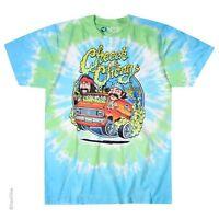 Cheech & Chong-smokin Ride-tie Dye T-shirt M-l-xl-xxl