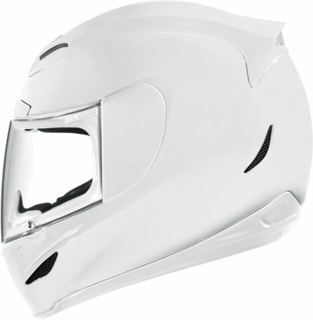*Ships Within 24 Hrs*  ICON Airmada Gloss (White) Motorcycle Helmet