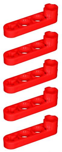 Falta Lego Ladrillos 2825 Rojo X 5 Technic Beam 4 X 0,5 liftarm con Boss