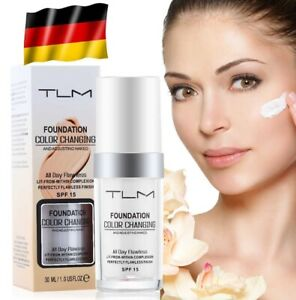 NUOVO-TLM-Flawless-All-in-One-Foundation-color-changing-correttore-Lang-molto-condizionata