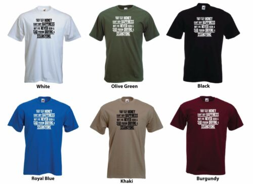 Men/'s Funny Gift T-shirt /'They say Money can/'t buy Happiness.../' /'Ssangyong/'