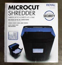 Royal MC8 Micro-Cut Shredder 8 sheet 29349c